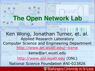The Open Network Lab