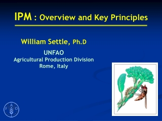 IPM  : Overview and Key Principles