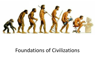 Foundations of Civilizations