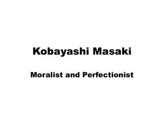 Kobayashi Masaki