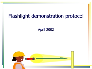Flashlight demonstration protocol