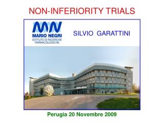 NON-INFERIORITY TRIALS