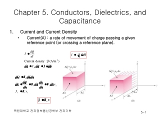 Chapter 5. Conductors, Dielectrics, and Capacitance