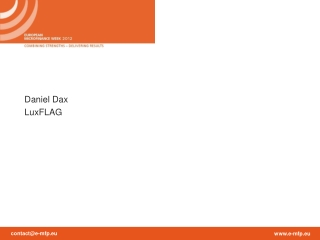 Daniel Dax LuxFLAG