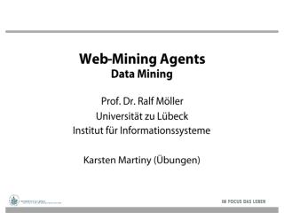Web-Mining  Agents Data Mining