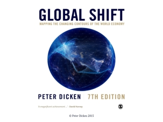 The Centre of Gravity Shifts:  Transforming the Geographies of the Global Economy