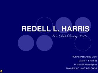 REDELL L. HARRIS