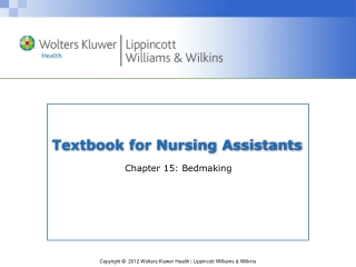 Textbook for Nursing Assistants
