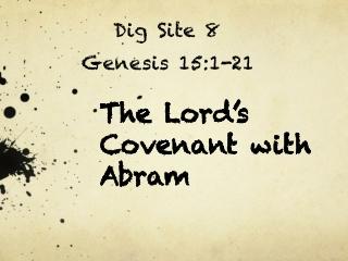 Dig Site 8