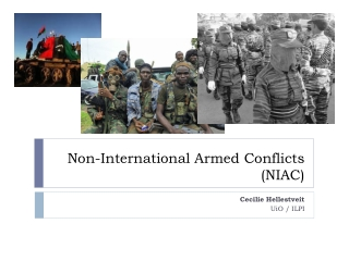 Non-International Armed Conflicts   (NIAC)