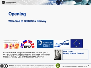 Opening Welcome to Statistics Norway