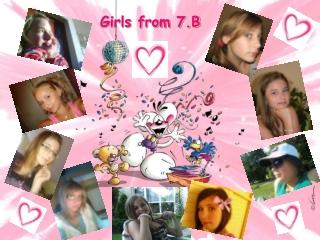 Girls from 7.B