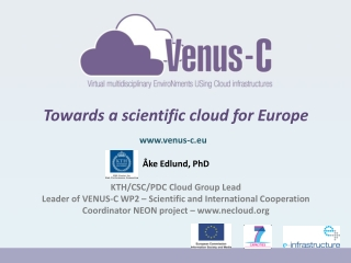 Towards a scientific cloud for Europe