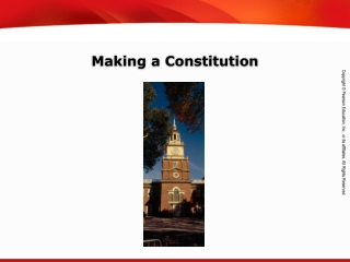 Making a Constitution