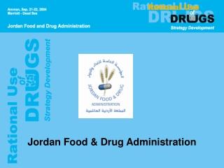 Jordan Food & Drug Administration