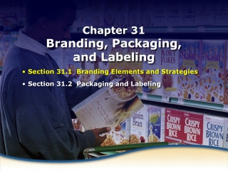 Branding Elements and Strategies
