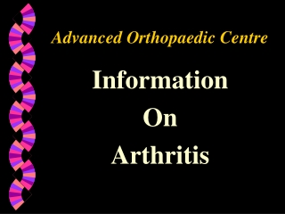 Advanced Orthopaedic Centre