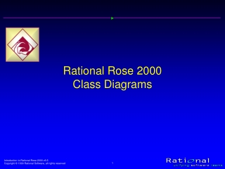 Rational Rose 2000 Class Diagrams