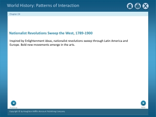 Nationalist Revolutions Sweep the West, 1789-1900