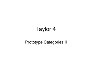 Taylor 4