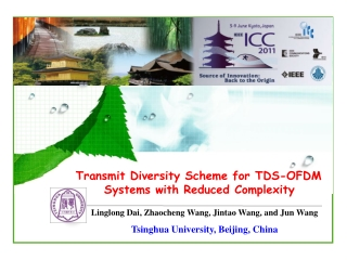Transmit Diversity Scheme for TDS-OFDM Systems with Reduced Complexity
