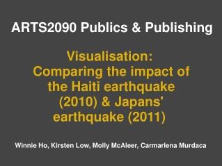 ARTS2090 Publics & Publishing