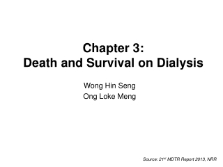 Chapter 3: Death and Survival on Dialysis