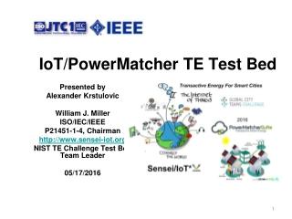 IoT/PowerMatcher TE Test Bed