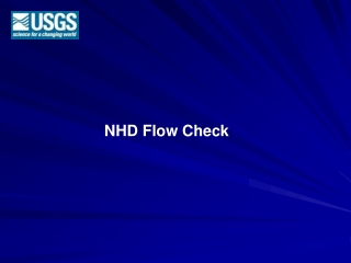 NHD Flow Check