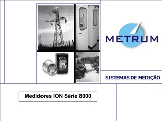 Medidores ION S rie 8000