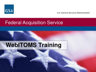 WebITOMS Training