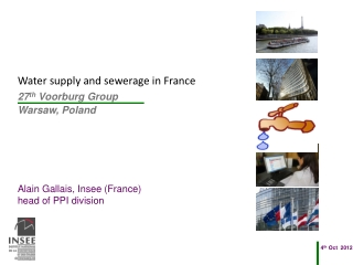 Water supply and sewerage  in France