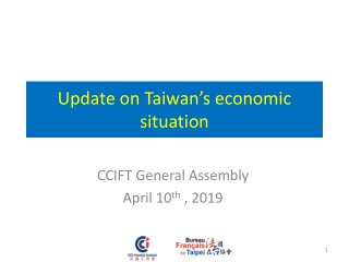 Update on Taiwan's economic situation