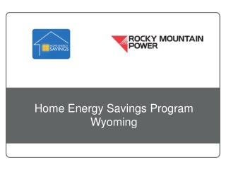 Home Energy Savings Program Wyoming