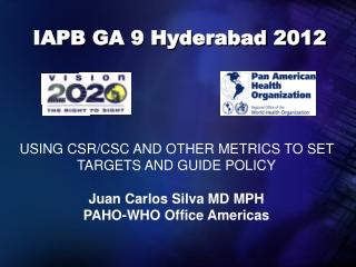 IAPB GA 9 Hyderabad 2012