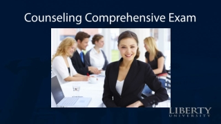 Counseling Comprehensive Exam