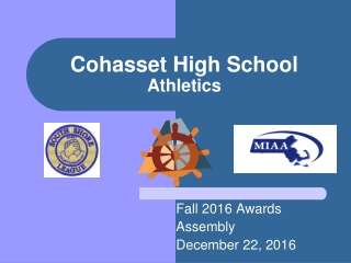 Cohasset High School Athletics