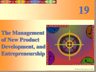 The Management of New Product Development, and Entrepreneurship