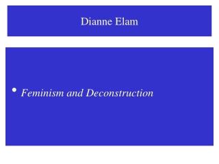 Dianne Elam