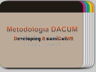 Metodolog??a DACUM