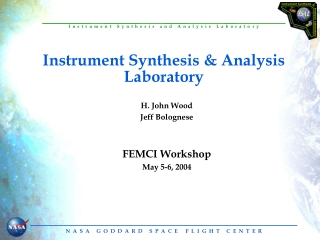 Instrument Synthesis & Analysis Laboratory