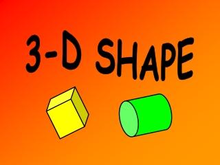 3-D SHAPE