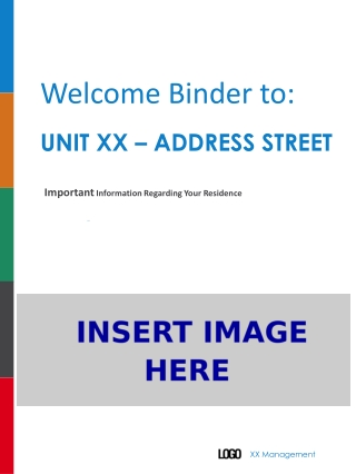 Welcome Binder to:
