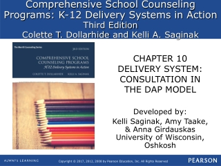 CHAPTER 10 DELIVERY SYSTEM: CONSULTATION IN THE DAP MODEL
