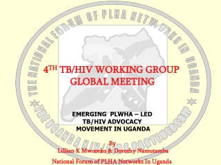 4 TH  TB/HIV WORKING GROUP  GLOBAL MEETING