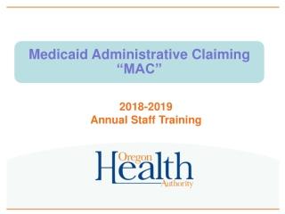 2018-2019 Annual Staff Training