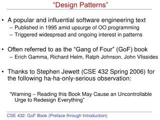 """Design Patterns"""