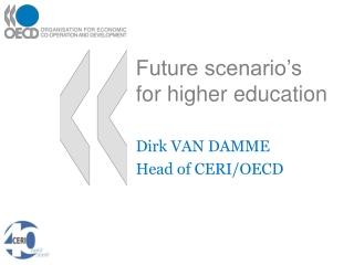 Future scenario's for higher education