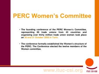 PERC Women's Committee