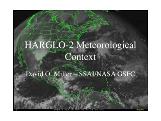 HARGLO-2 Meteorological Context
